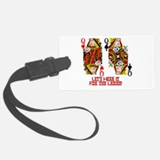 Let's Hear it for the Ladies Luggage Tag