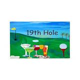 Hole 3x5 Rugs