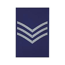 RAF Sergeant<BR> 100 Rectangle Magnets