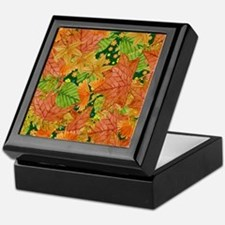 Autumn foliage Keepsake Box