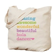 Hula Dancer Tote Bag
