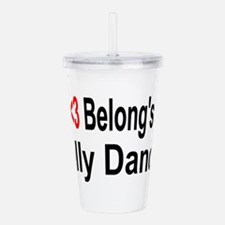 belly10.png Acrylic Double-wall Tumbler