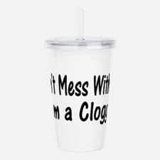 clogging37.png Acrylic Double-wall Tumbler