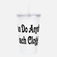 clogging31.png Acrylic Double-wall Tumbler