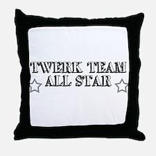 Twerk Team All Star Throw Pillow