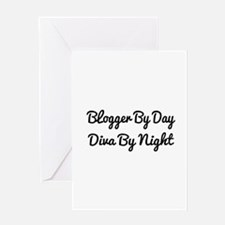blogger Greeting Card