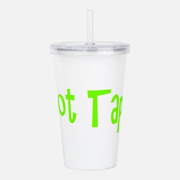 Cute Dancer Acrylic Double-wall Tumbler