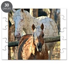 Horses in the Field Puzzle