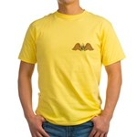 Masonic Wings Yellow T-Shirt