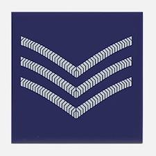 RAF Sergeant<BR> Tile Coaster