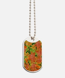 Autumn foliage Dog Tags
