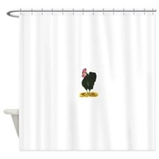 Rooster Elvis Shower Curtain