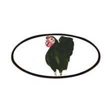 Rooster Elvis Patches
