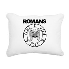 Romans Rectangular Canvas Pillow