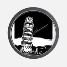 Leaning Tower Wall Clock