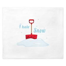 I Hate Snow King Duvet