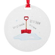 Let It Snow Ornament