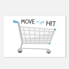 Move Or Get It Postcards (Package of 8)