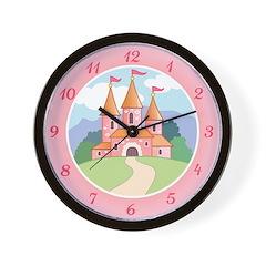 Fairytale Castle Wall Clock