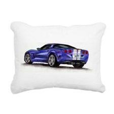 Chevrolet Corvette Rectangular Canvas Pillow