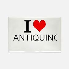 I Love Antiquing Magnets