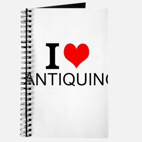 I Love Antiquing Journal