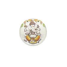Ganesh Mini Button (10 pack)