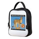 International Cheetah Day Neoprene Lunch Bag