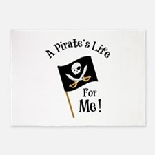 A Pirates Life 5'x7'Area Rug