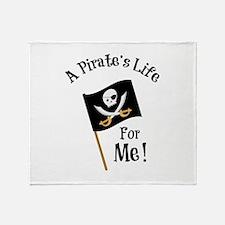 A Pirates Life Throw Blanket