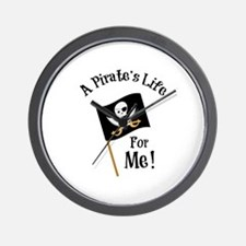 A Pirates Life Wall Clock