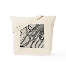 Vintage Octopus Tentacles Tote Bag