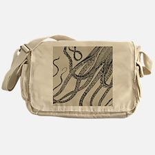 Vintage Octopus Tentacles Messenger Bag