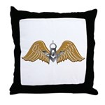 Masonic Wings Throw Pillow