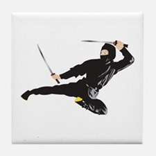 Unique Ninja warrior Tile Coaster