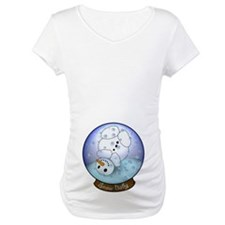 Frosty Snow Globe Baby Shirt