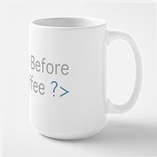 No Code Before Coffee Mugs