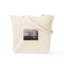Unique Rescued horse Tote Bag