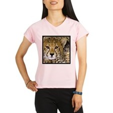 Cheetah Portrait Performance Dry T-Shirt