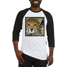 Cheetah Portrait Baseball Jersey
