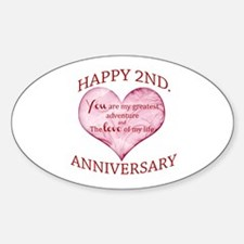 2nd Anniversary Decal