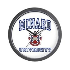 MINARD University Wall Clock