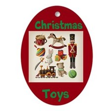 Russian Toy Collection Ornament (oval)
