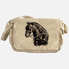 Carriage Driving Horse Messenger Bag