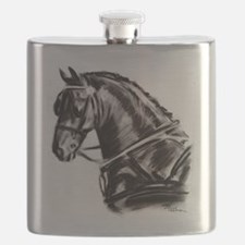 Carriage Driving Horse Flask