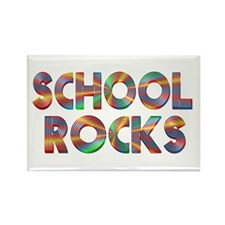 School Rocks Rectangle Magnet