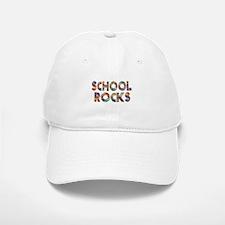 School Rocks Baseball Baseball Cap