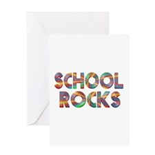 School Rocks Greeting Card