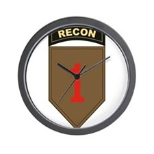 1st ID Recon.png Wall Clock