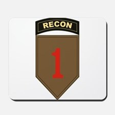 1st ID Recon.png Mousepad